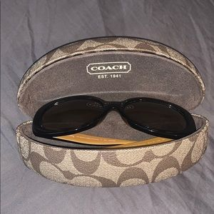Authentic Polarized Coach Sunglasses with case